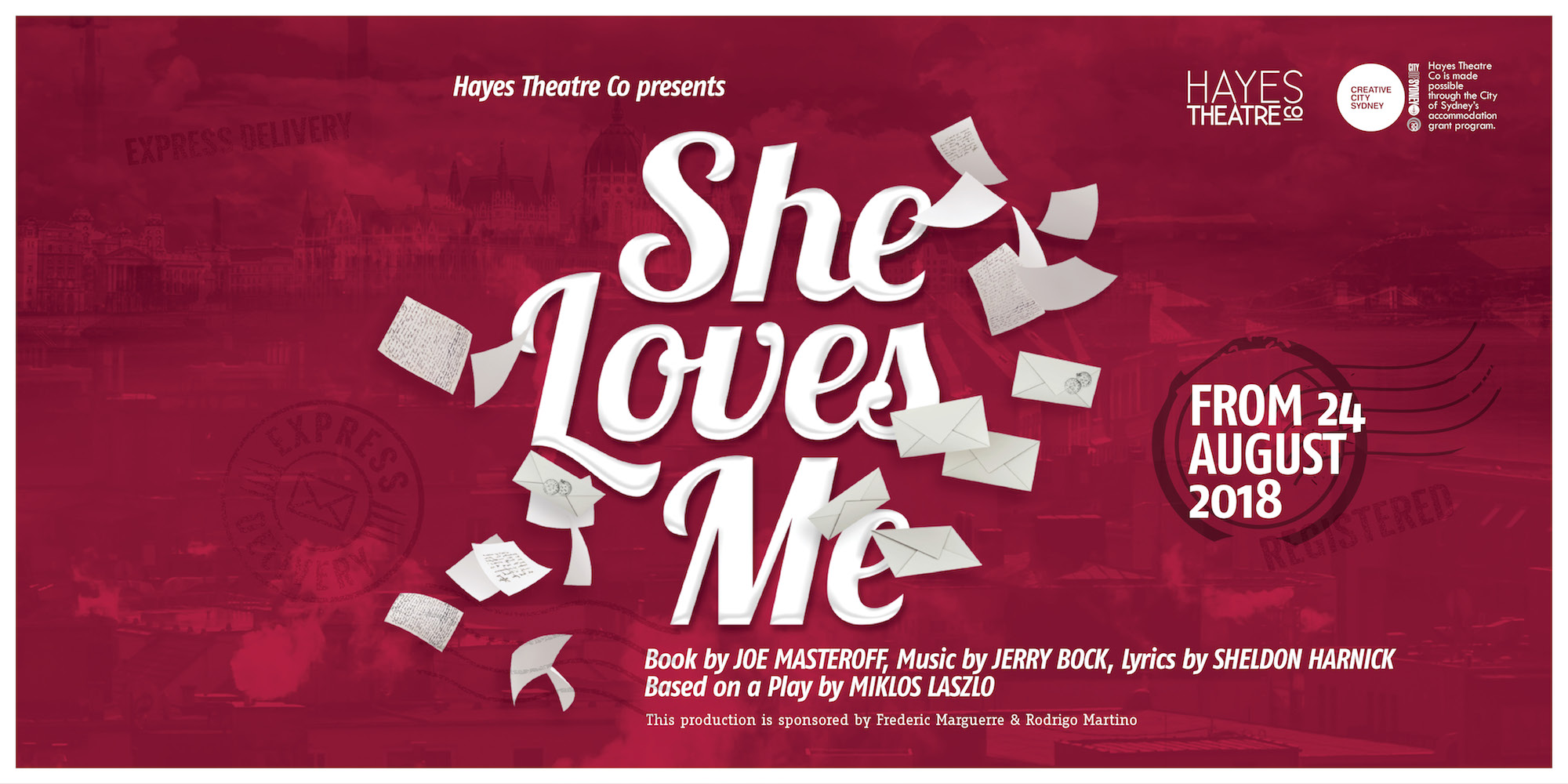 She Loves Me – Hayes Theatre Company
